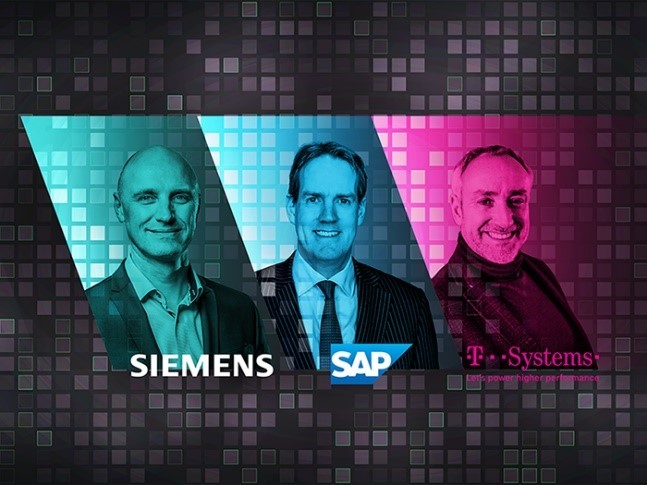 Siemens, SAP en T-Systems slaan de handen ineen